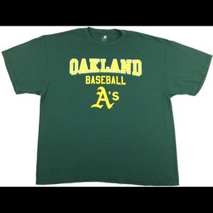 MLB Genuine Merchandise Oakland A's Baseball Shirt
